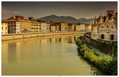 Pisa (JKP14) Tags: arno pisa toskana flus italien