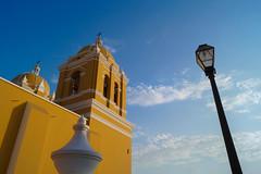 Cathedral | Trujillo, Per (carlo.paredes) Tags: cathedral peru trujillo church travel trip yellow up clouds
