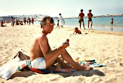 Tangiers Nasrani - Brian Bird, 1980s (ronramstew) Tags: tangier tangiers morocco maroc marruecos beach playa plage brianbird guisborough 1980s tanger