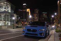 IMG_2222 (86Reverend) Tags: 2016 16 subaru wrx sti serieshyperblue series hyper blue david higgins craig drew srt usa rally city urban minnesota minneapolis night
