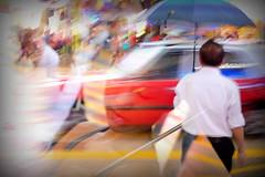 lost heaven (MdKiStLeR) Tags: color street urban movement motion blur taxi rain hongkong tst asia abstract lostheaven mdkistler 2016 copyrightmichaelkistler