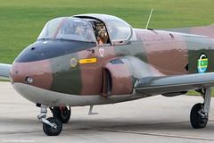 Jet Provost (Canon_Snapper) Tags: aircraft aviation jets militaryaircraft warbird warbirds vintageaircraft trainingaircraft bac coldwarjet postwaraircraft sywell