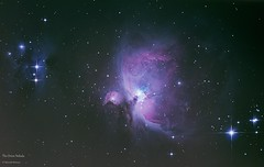 The Orion Nebula - Messier 42 (mariuszwysocki) Tags: orion nebula m42 universe space cosmos astrophotography dark skies night great hunter telescope deep objects