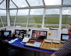 Duxford Control Tower (rac819) Tags: duxford iwmduxford iwm falke motorglider