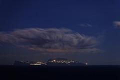 Notturno2 (LifeReporter) Tags: nightsky nightcolors nightislands nature sky night sea landscape naples notte isole paesaggio faro napoli capri miseno baia di