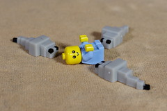 Baby under attack (Busted.Knuckles) Tags: home toys lego minecraft minifigures baby insects pentaxk3 camerautility5