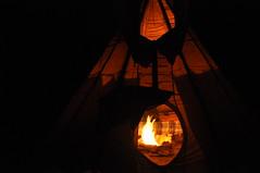 DSC_0345 (David.Sankey) Tags: catskills newyork newyorkstate autumn fall woods forest ny tipi teepee tent camping fire night