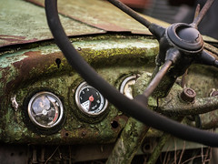 48°C (Panasonikon) Tags: panasonikon oldcar oldtimer rost altesauto sigma6028 explore olympusomdem5