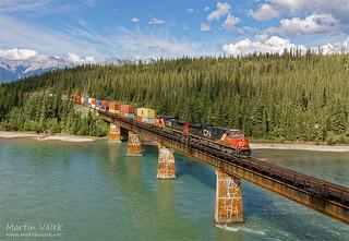 CN 2224 + 2514, Solomon - Entrance (Alberta, Canada)