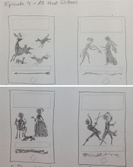 Tremontaine-S2-Episode-4-ThumbnailsForWeb (tanaudel) Tags: illustration drawing tremontaine thumbnail sketches swords fencing fighting fantasy stag deer dogs hounds