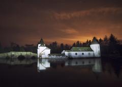 Icy Craigtoun (Colourblind Chris) Tags: craigtoun st andrews fife scotland stars night lake ice icy
