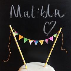 Matilda (Emma Bunting) Tags: birthday bunting cake mini emma happy vintage retro straws handmade made britain