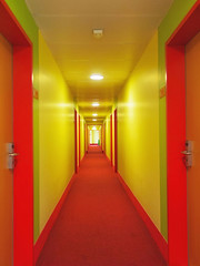 2nd floor (try...error) Tags: red yellow orange rot hotel leica