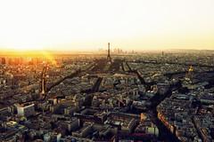 Atardecer en Pars (jantoniojess) Tags: pars eiffel torreeiffel montparnasse torremontparnasse sunset francia france