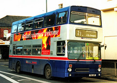 3085 (WT) F85 XOF (WMT2944) Tags: 3085 f85 xof mcw metrobus mk2a west midlands travel