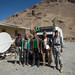 Foto com os agentes aduaneiros do Afeganistão