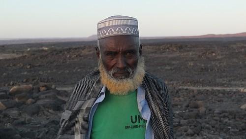 Djibouti_2014 - L'okal (chef coutumier) d'Andaba