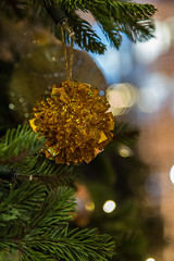 1H0A0075 (AudioClassic) Tags: christmas bauble sprucetreebranch bokeh adventlights season candle light window tallinn estonia winter snow outdoors christmaslights vacations reflections electriccandle blizzard december newyearsday cold