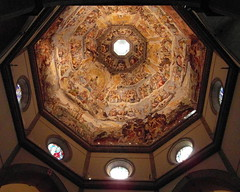 florence under the dome (kexi) Tags: florence firenze florencja italy europe toscany tuscany architecture masterpiece dome old ancient church samsung wb690 october 2015 interior under windows duomo basilica cathedral catholic instantfave