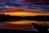 Sunset (Henryhayfever) Tags: sunset lake finland summer redmatrix