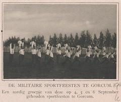 Militaire sportfeesten te Gorcum (op 4, 5, 6 september 1916) (Barry van Baalen) Tags: article artikel military militair militairen militia gorinchem 1916 sport
