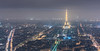 City of Lights (McQuaide Photography) Tags: paris france french républiquefrançaise iledefrance europe sony a7rii ilce7rm2 alpha mirrorless 55mm primelens prime sonnar sonyzeiss zeiss fe55mmf18za mcquaidephotography fullframe adobe photoshop lightroom light availablelight longexposure city capitalcity urban lowlight outdoor outside architecture building landmark touristattraction tourism travel skyline panoramic pollution eiffeltower toureiffel smog tourmontparnasse montparnassetower lowvisibility elevated above viewpoint