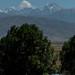 Montanhas na divisa com o Uzbequistão