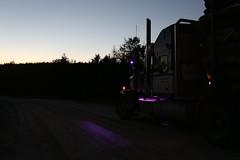 Workin' in the dark (jr-transport) Tags: kenwort w900 w900l manion llights led logging