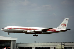 N18708 Boeing 707-331B TWA Trans World Airlines (pslg05896) Tags: n18708 boeing707 twa transworldairlines lhr egll london heathrow