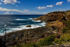Clouds forming offshore (jack eastlake) Tags: tathra head headland clouds offshore storms bega valley shire nikon d810 seascape sea