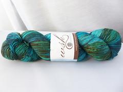 Western Sky Knits BFL Nylon Sock - Tidepools (ladydanio) Tags: western sky knits bfl nylon sock yarn stash tidepools