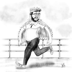 King in the World (Robson Morales) Tags: ilustrao design fanart draw artwork inspirao inspiration artista artist digitalart digital color pencil lpis arte desenho weezer thekingoftheworld
