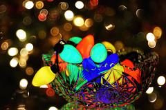 Bowl of Holiday Lights (HSS) (WilliamND4) Tags: hss colorful lights holiday christmas bowl bokeh dof