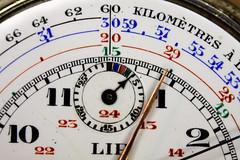 My grandfather's stopwatch (Alfredo Liverani) Tags: macromondays macro mondays arrow canon40d canon 40d orologio clock uhr rellotges relojes rellotge reloj stopwatch timepiece hourhand dial text hmm lip france montregousset montre gousset orologiodataschino cronometro lancetta lancette quadrante testo
