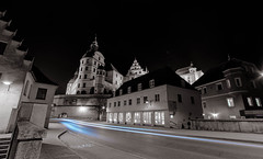 neuburg revisit (dn_o) Tags: lighttrails longtimeexposure night nightowl nighttime samyang selectivecolour ultrawideangle walimex