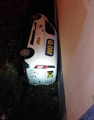 Accidente en Zearkalea (Ayuntamiento de Ermua  Ermuko Udala) Tags: ermua bizkaia aritzmendi frontn 2016 accidente coche bm incidente sociedad zearkale