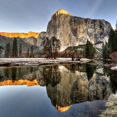 Morning Reflection (Doug Santo) Tags: elcapitan mercedriver yosemitenationalpark yosemitevalley landscapephotography