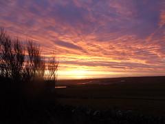 Sunrise over Kirkwall airport (stuartcroy) Tags: orkney island scotland scenery sky sea sony sunrise sunlight beautiful colour clouds gorgeous