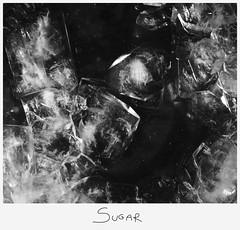Sirup (Marco Di Ferrante) Tags: nero bianco bw cristallo crystalline monocromatico monochrome sugar sirup syrup polaroidstyle zucchero sciroppo