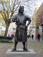 King John (oldfirehazard) Tags: norfolk england november 2016 winter frost weather cold trees nature outdoor kingslynn king john statue
