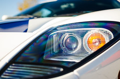 Centennial supercar (GmanViz) Tags: gmanviz color detail car auto automobile ford gt headlight lens nikon d7000