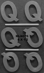 MLN076 (Chocolate Concepts) Tags: chocolate letters number numbers letter mold q