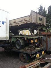 OLD ARMY TRAILERS (TruckerPat) Tags: rusty scrapyard oldtrailers oldarmytrailers scammellcouplingtrailers