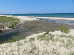 Otter Creek (tyme out) Tags: beach michigan lakemichigan empire ottercreek
