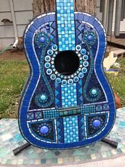 It's All About The Blues (Elsieland Mosaics) Tags: glass tile mosaic corpuschristi guitars mosaics christi corpus elsie musicalinstruments mosaicart gaertner elsieland elsiegaertner elsielandmosaics uploaded:by=flickrmobile flickriosapp:filter=nofilter