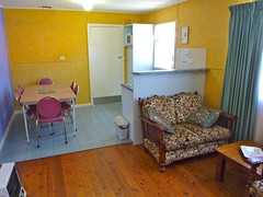 "Lorikeet Cottage Lounge kitchen • <a style=""font-size:0.8em;"" href=""http://www.flickr.com/photos/54702353@N07/9272218607/"" target=""_blank"">View on Flickr</a>"