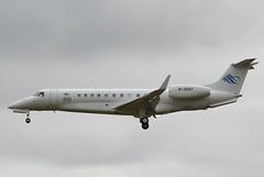 B-3097 Embraer 135 Legacy (GSairpics) Tags: travel england london airport aircraft aviation aeroplane 650 biz legacy essex stansted stn embraer emb bizjet emb135 egss e135 legacy650 b3097