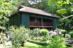 paalwoning, houten huis Ho Chi Minh (JANKUIT) Tags: hochiminh paalwoning nhasanbacho