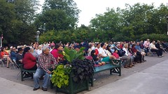 Crowd at Sunday Nights at the Bandstand (Unionville BIA) Tags: street music canada live main crowd millennium bandstand markham unionville 48th highlanders