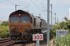 EMD 968702-208 - JT42CWR - ECR 66208 / Coudekerque-Branche